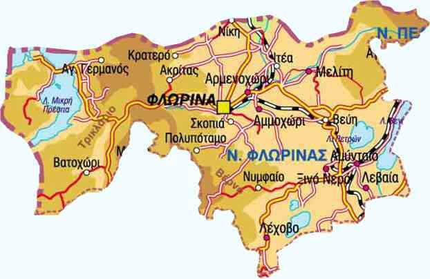 florina-geo-map